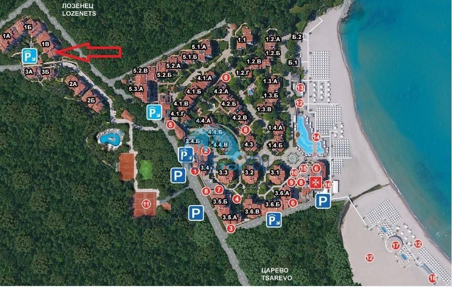 Трехкомнатная новая квартира у моря в курорте Лозенец 17