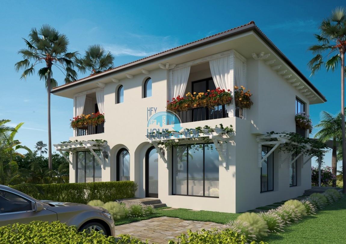 Прелестные двухэтажные дома у моря в экологически чистой местности Тарфа, курорт Лозенец