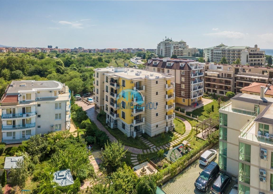 Уютные и практичные апартаменты для постоянного проживания в пейзажном городе Несебр, комплекс Южная Звезда