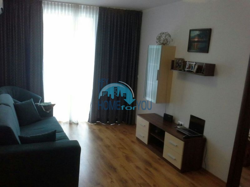 Меблированная двухкомнатная квартира у моря в Несебре - на ПМЖ