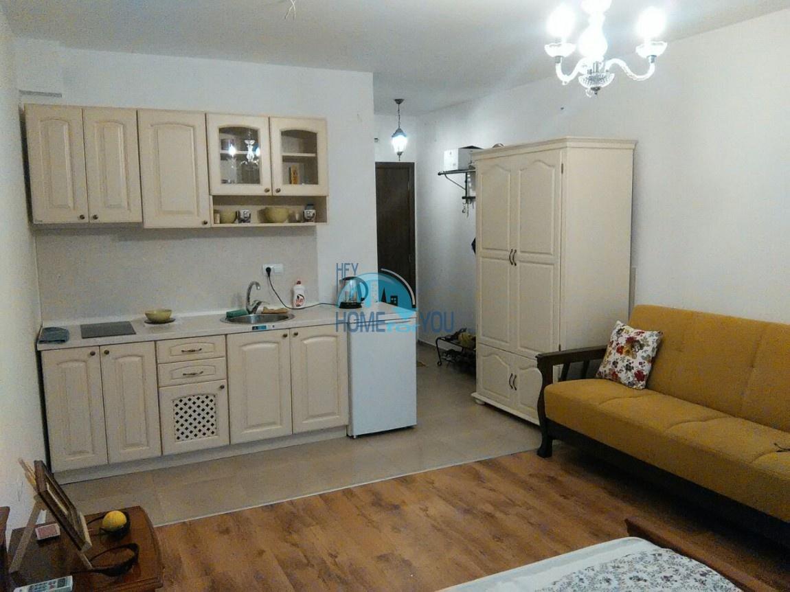 Меблированная квартира-студия в городе Несебр
