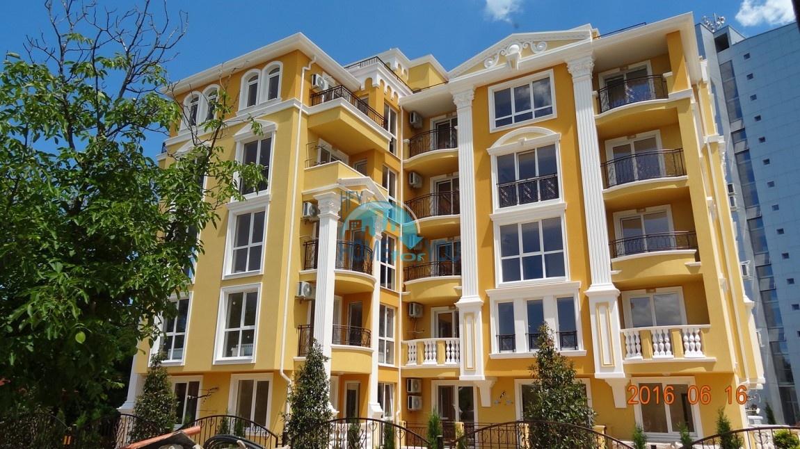 Новая элитная двухкомнатная квартира в городе Несебр