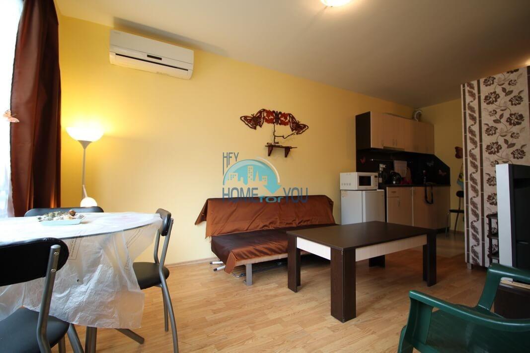 Новая двухкомнатная квартира в городе Несебр, квартал Черное море