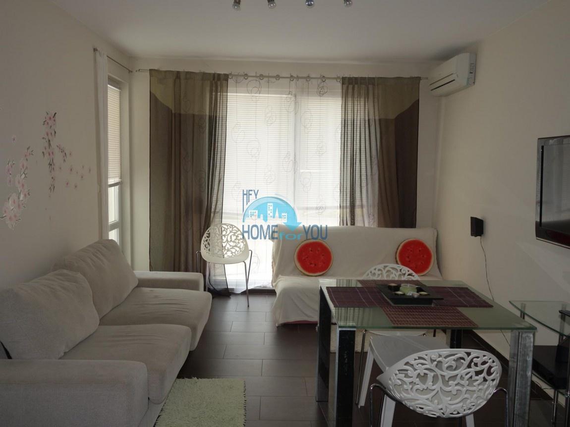 Отличная, новая двухкомнатная квартира в комплексе Одисей, Несебр