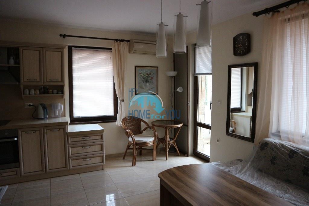 Уютная, новая двухкомнатная квартира на продажу в городе Несебр