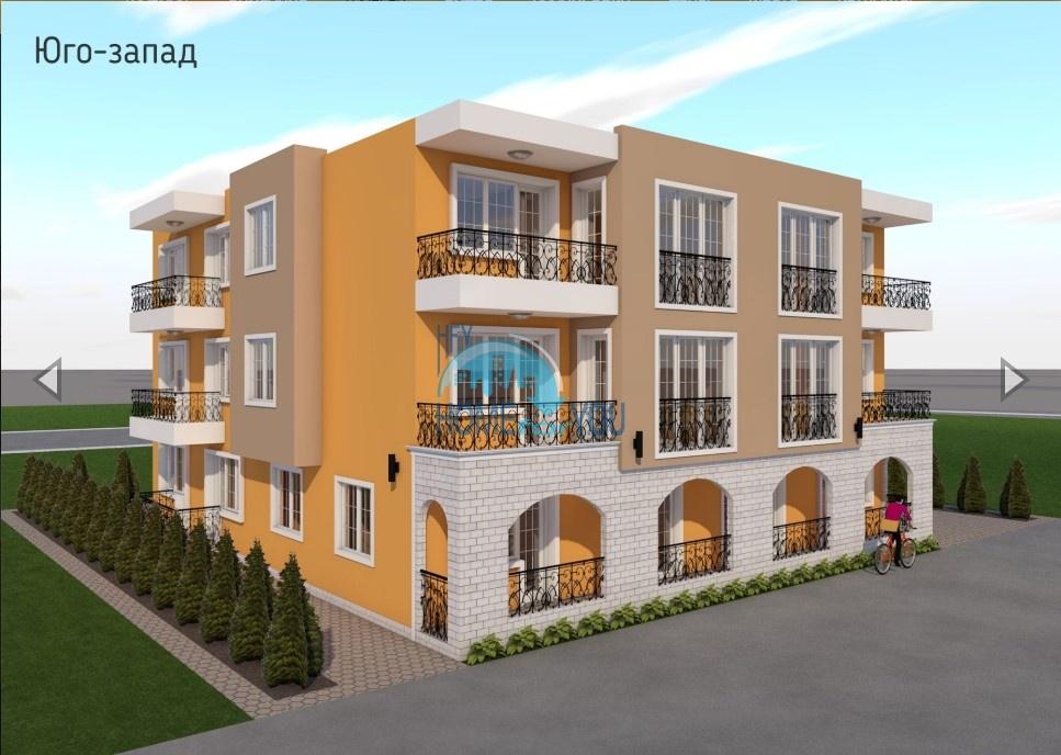 Функциональные апартаменты в новом жилом доме без таксы поддержки - Villa Nemo, Несебр
