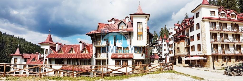 Двухкомнатная квартира на популярном горнолыжном курорте Пампорово, в уютном комплексе Castle 2