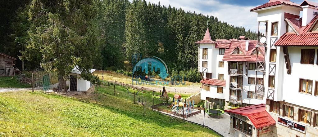 Двухкомнатный апартамент в комплексе закрытого типа Castle 2, курорт Пампорово