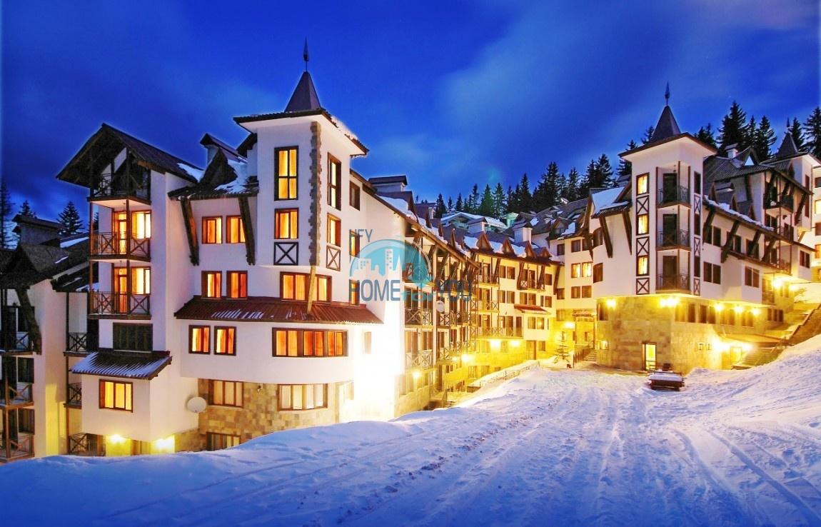 Привлекательная цена на студию в Пампорово - комплекс Castle 2 с выходом на лыжный склон