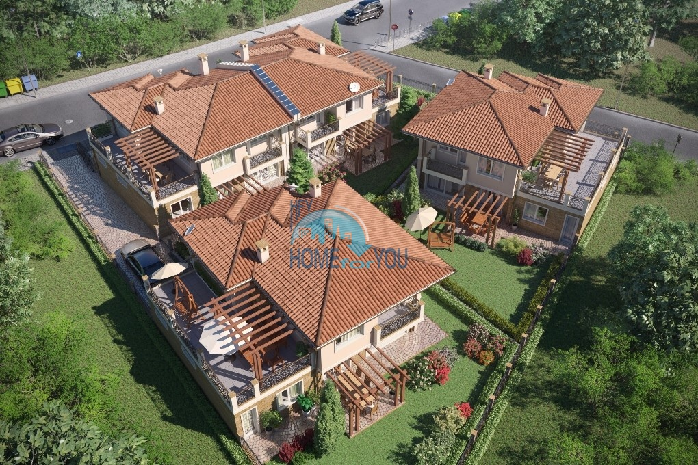 Дом в Поморие. Pomorie Houses - дома в новом квартале города Поморье.