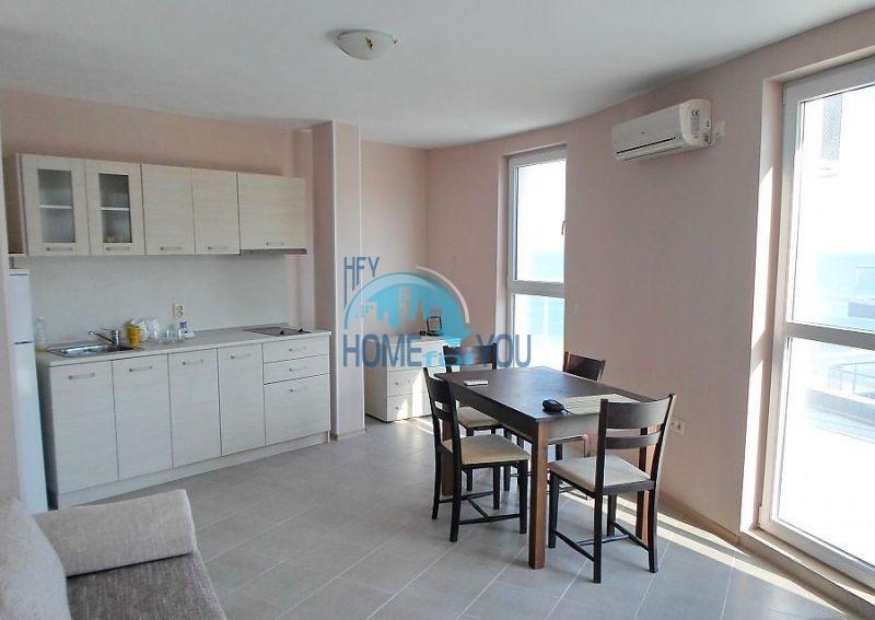 Двухкомнатная меблированная квартира в жилом доме для ПМЖ в Поморие 4