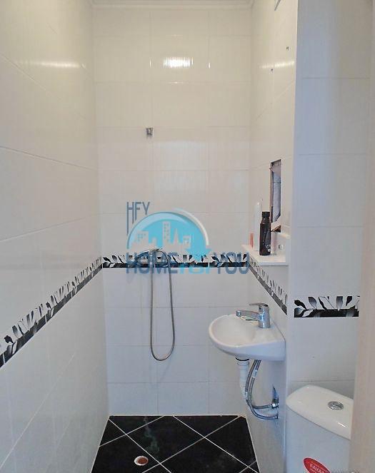 Двухкомнатная меблированная квартира в жилом доме для ПМЖ в Поморие 12
