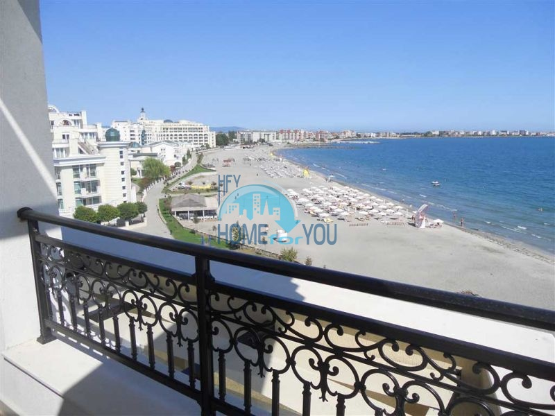 Элитная недвижимость в Болгарии - квартира на первой береговой линии в Поморие