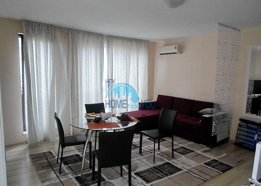 Готовая трехкомнатная квартира для постоянного проживания в Поморие  2