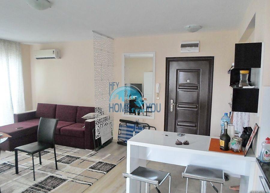 Готовая трехкомнатная квартира для постоянного проживания в Поморие  4