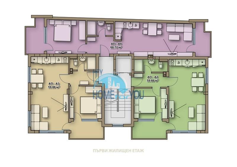 Новые качественные квартиры под ключ для ПМЖ в Поморие  9