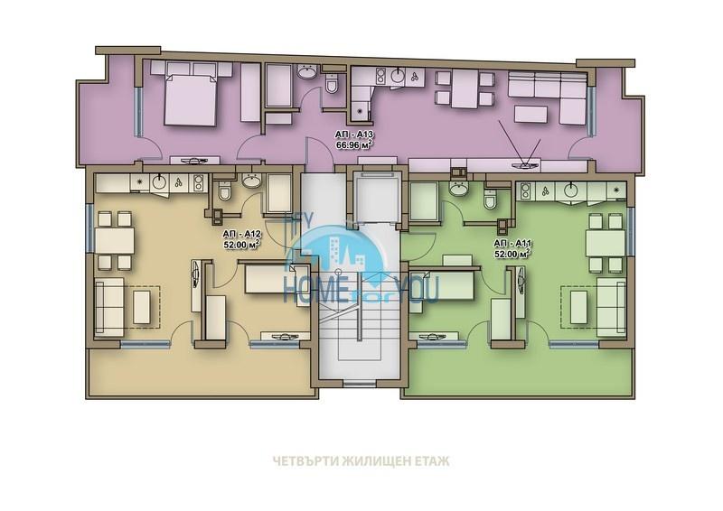 Новые качественные квартиры под ключ для ПМЖ в Поморие  12