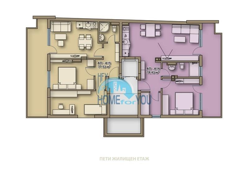 Новые качественные квартиры под ключ для ПМЖ в Поморие  13