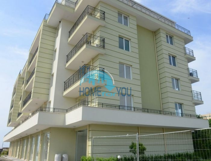 Новая двухкомнатная квартира с видом на море в Поморие
