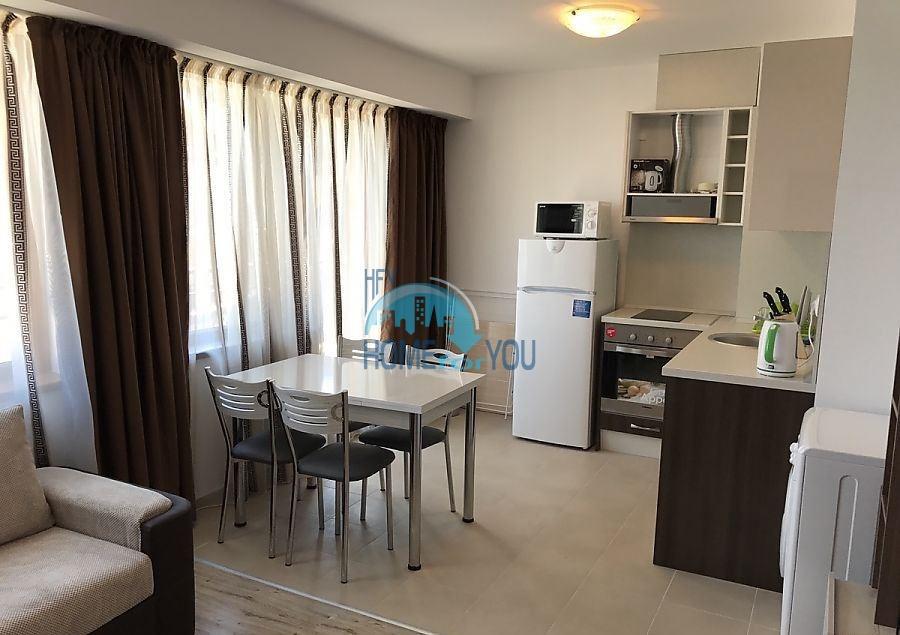 Двухкомнатная квартира в городе Поморие с видом на море