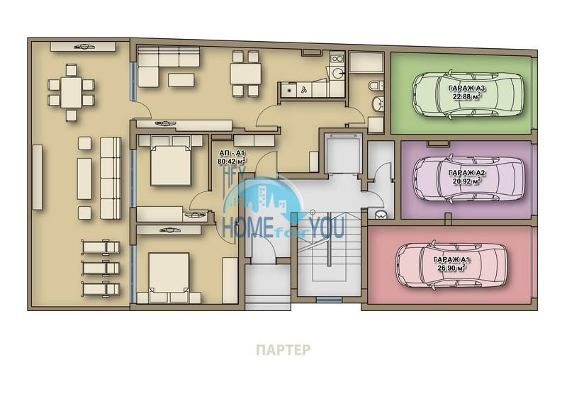 Новая квартира в качественном жилом доме в центре города Поморие - для ПМЖ 6