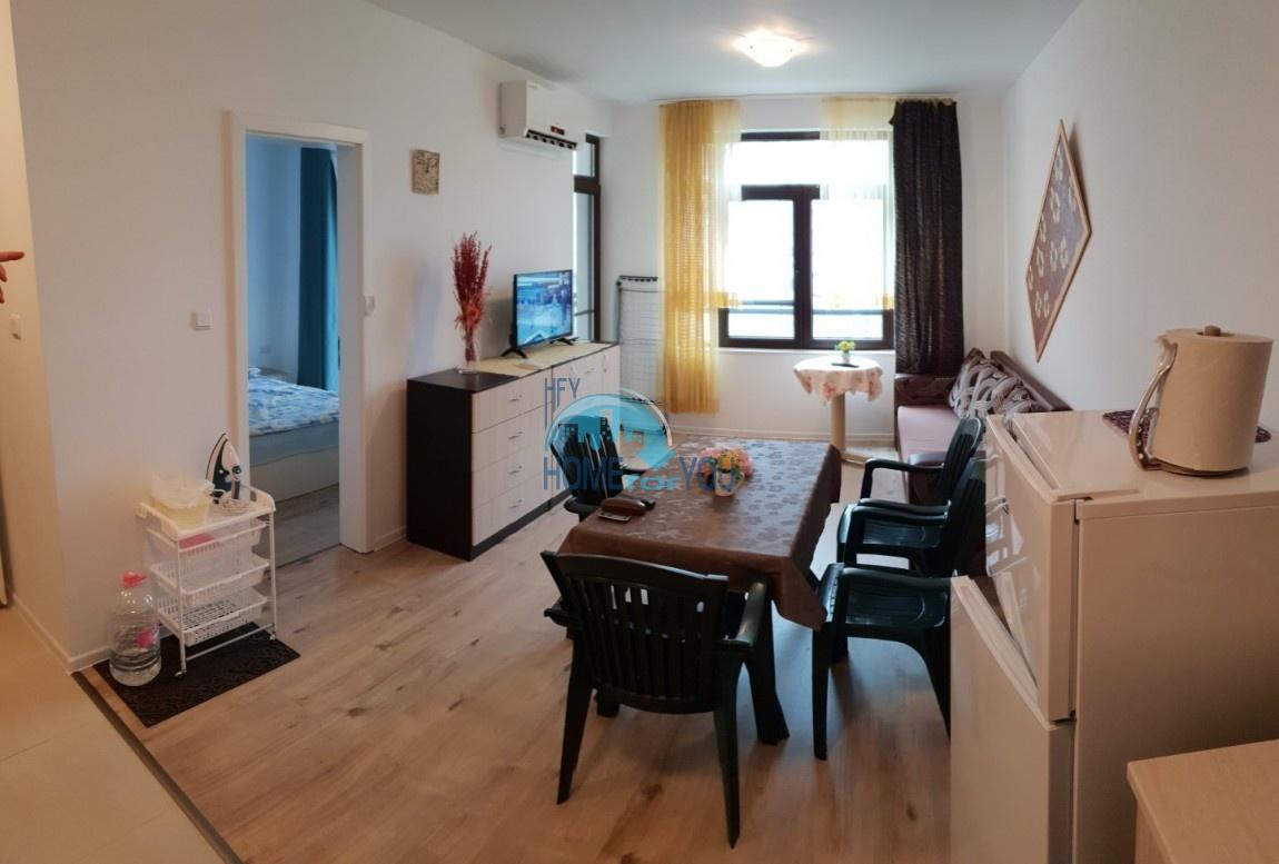 Отличная, новая двухкомнатная квартира в Поморие, комплекс Айвазовский парк