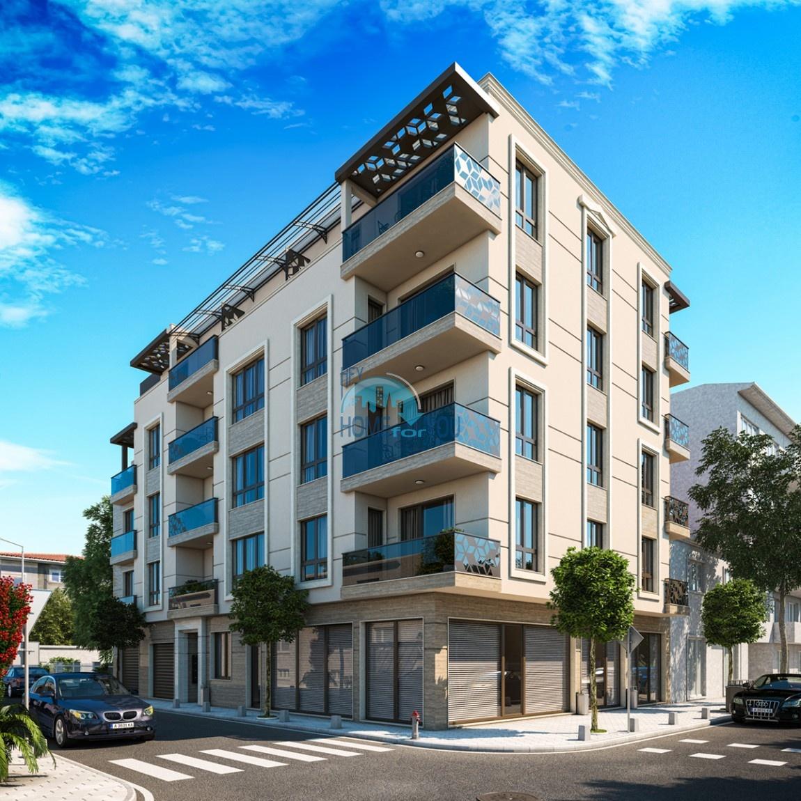 Квартира в Поморие. Удобные апартаменты в новом жилом здании.