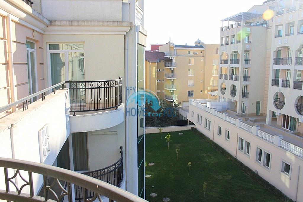 Просторный полностью меблированный апартамент в элитном комплексе