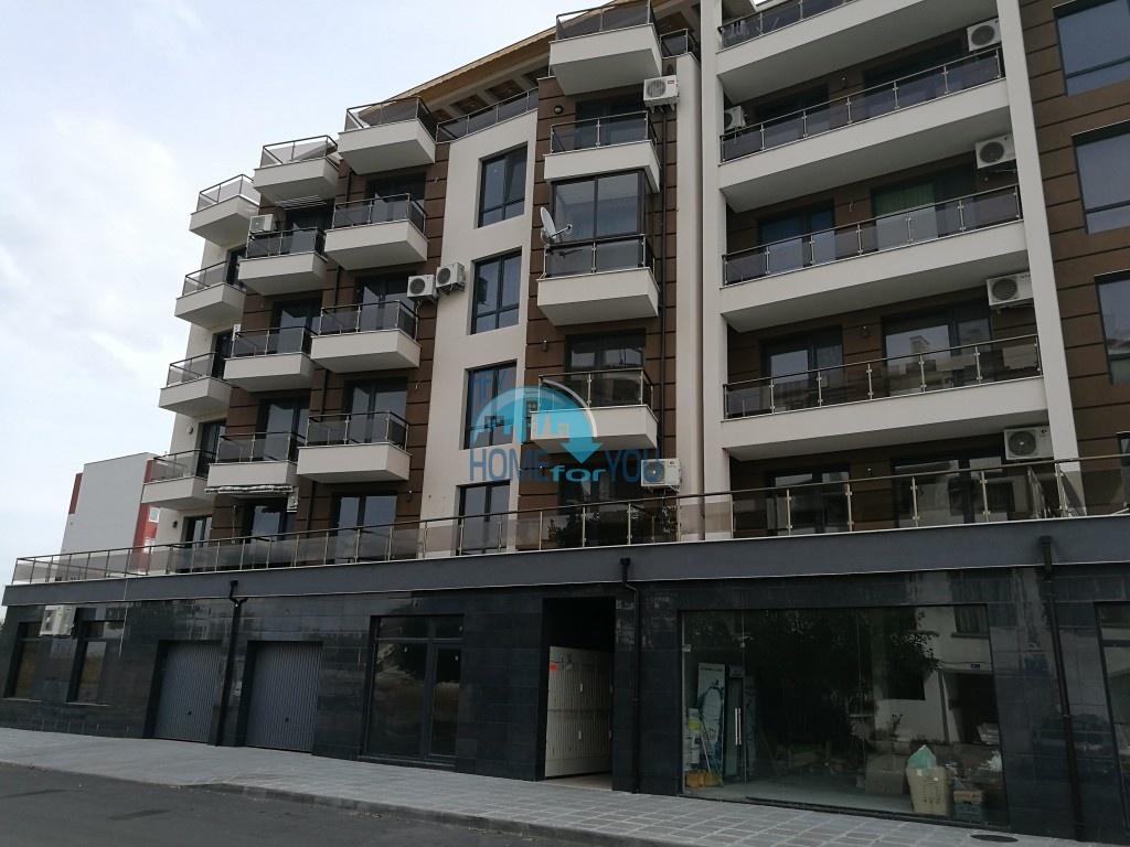 Студия с видом на море в новом жилом доме в Поморие - для ПМЖ