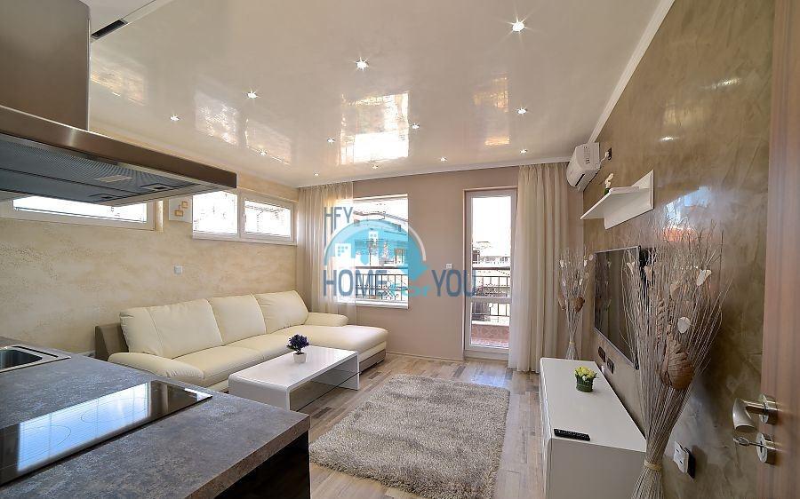 Новая трехкомнатная квартира на первой линии в Поморие 3