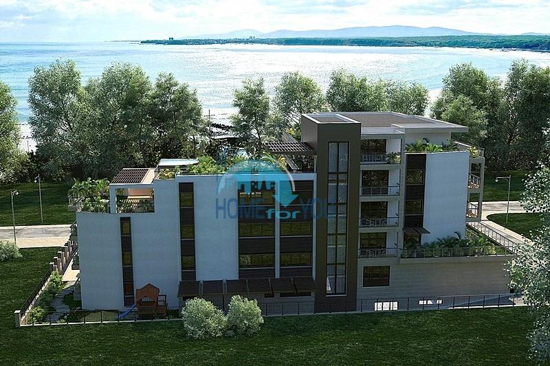 «Грин Парадайз Делюкс» в Приморско - апартаменты на первой линии в прекрасном городе Болгарии.