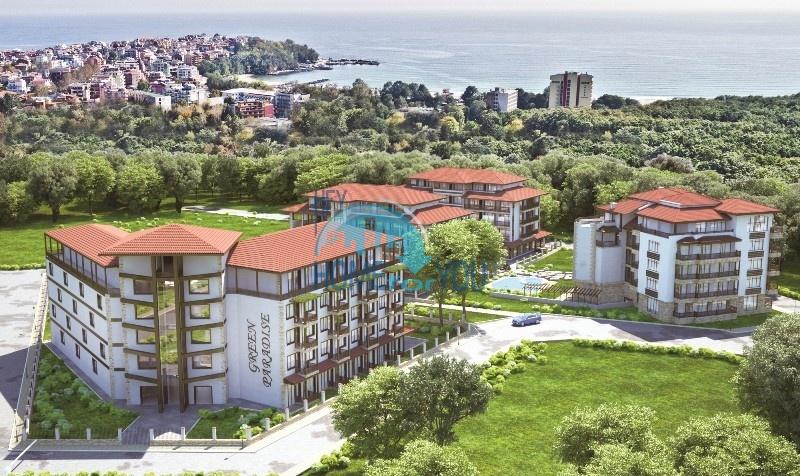 Апартаменты в живописной и густой дубовой роще на окраине города Приморско - Green Paradise IV