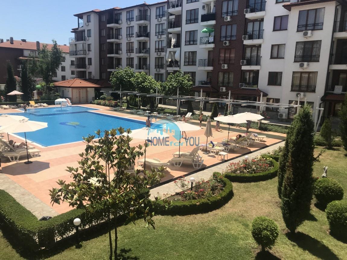 Апартамент с одной спальней в комплексе Аполлон, Равда