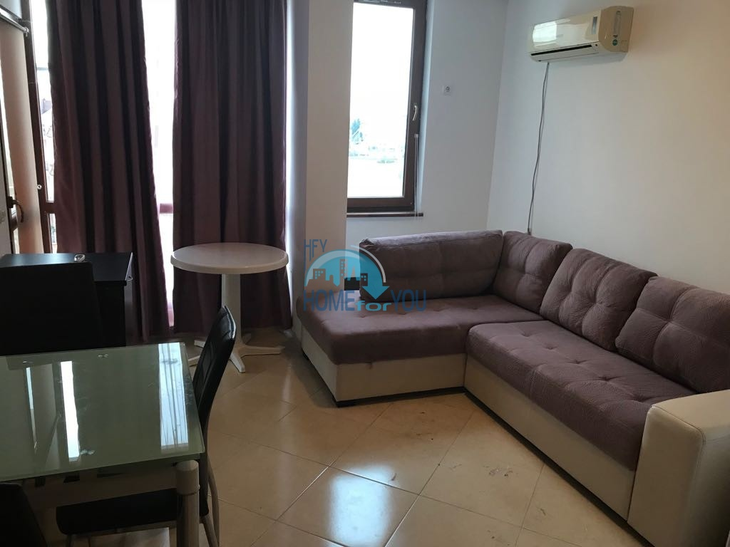 Чудесная двухкомнатная квартира в комплексе Риф 2, Равда