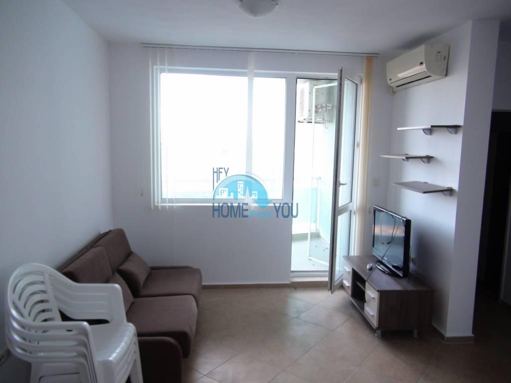 Дешевая, меблированная двухкомнатная квартира в Равде 3