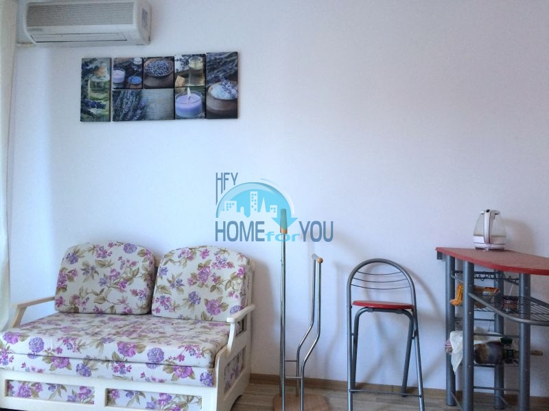 Хорошая студия с мебелью в 100 метрах от пляжа в Равде 4