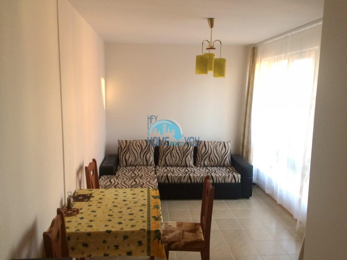Меблированная квартира - студия по выгодной цене в Равде