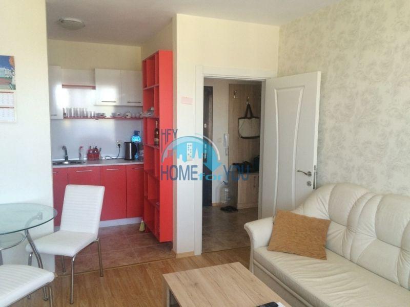 Меблированная квартира с одной спальней в элитном жилом комплексе Мелия Резиденс в Равде