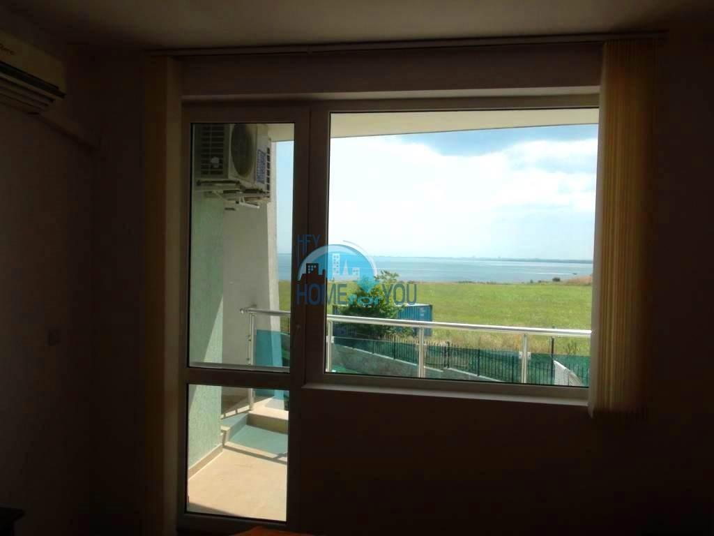 Недорогая двухкомнатная квартира с видом на море в Равде, комплекс Гранд Сирена