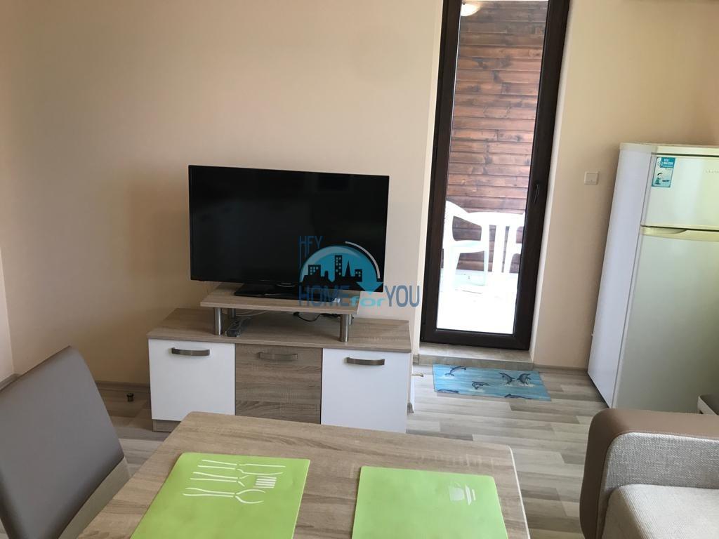 Новая  двухкомнатная квартира с видом на море в комплексе Аполлон, Равда