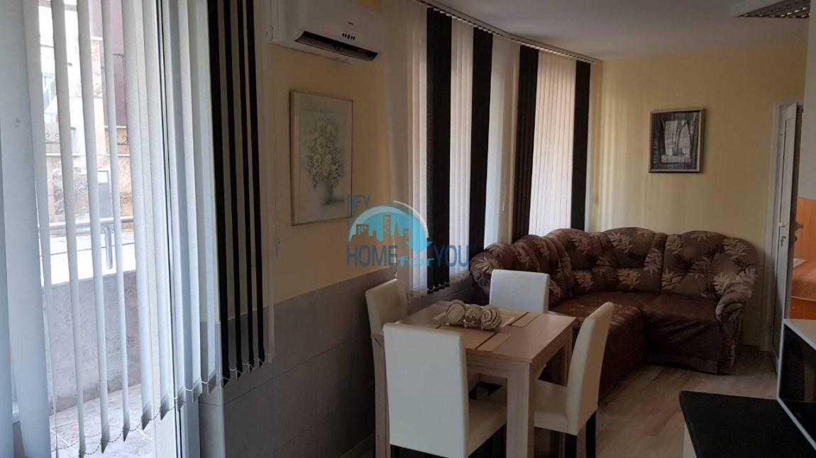 Отличная двухкомнатная квартира по выгодной цене в комплексе Мелия-2, Равда