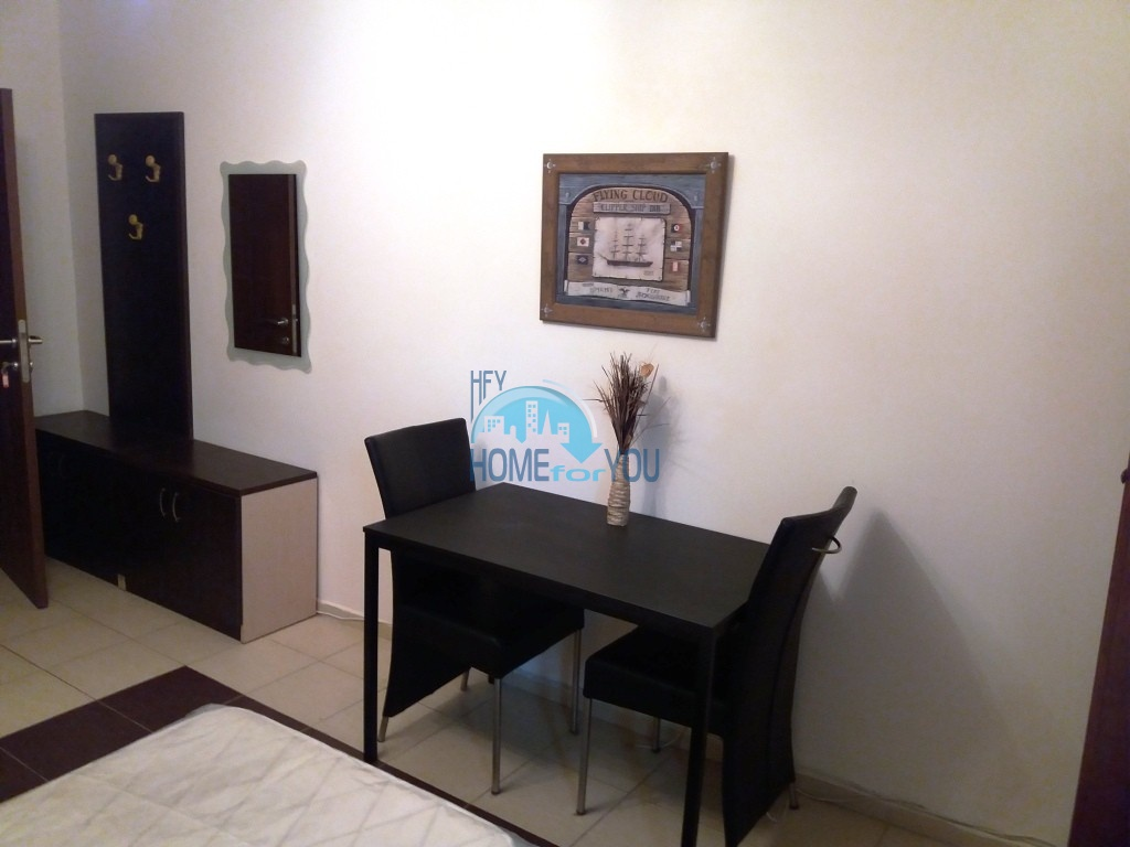 Студия с мебелью для ПМЖ без таксы поддержки в Равде 4