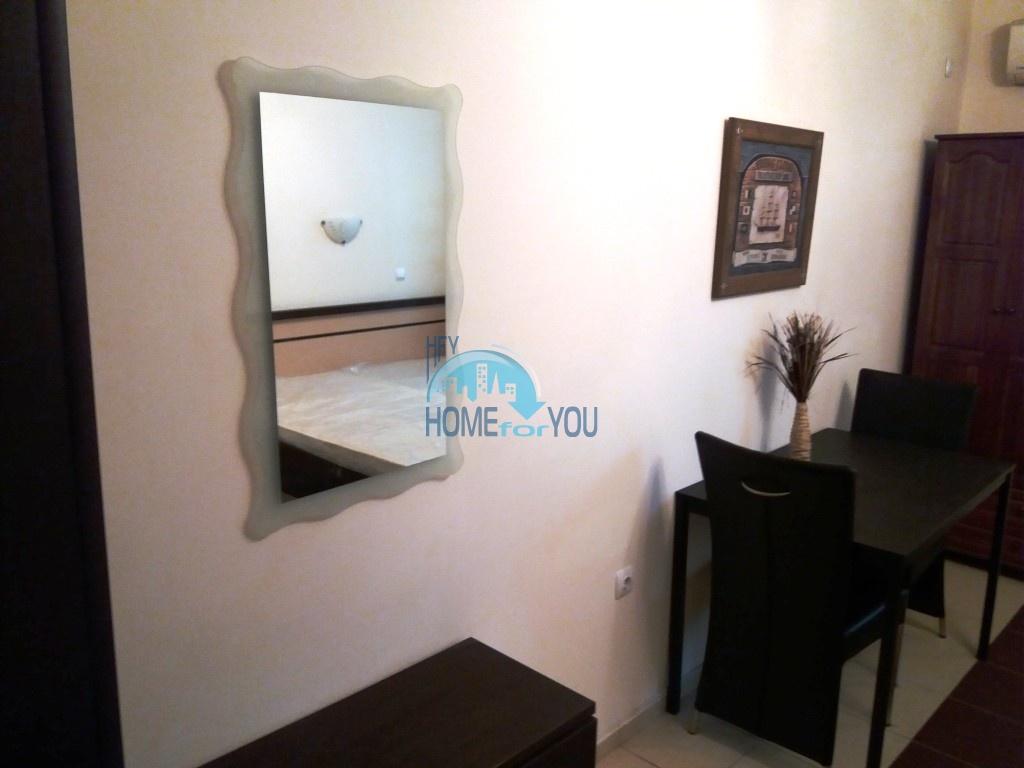 Студия с мебелью для ПМЖ без таксы поддержки в Равде 6