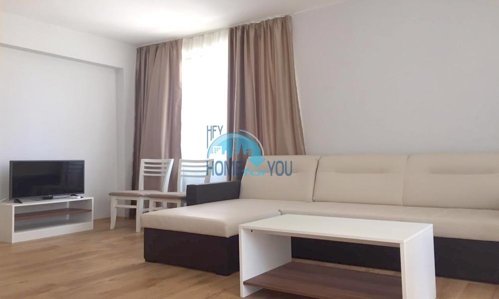 Трехкомнатный меблированный апартамент по выгодной цене в новом уютном комплексе, курорт Равда