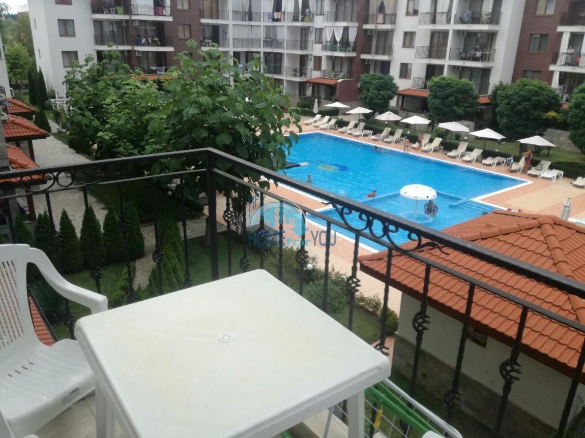Уютная, двухкомнатная квартира в комплексе Аполлон, Равда