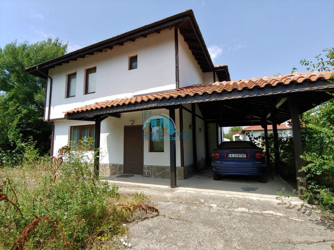 Чудесный, новый двухэтажный дом в поселке Трастиково, Бургас