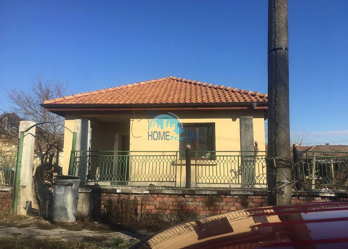 Новый дом с большим двором в деревне Трастиково, Бургас