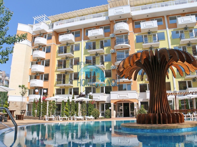 Sweet Homes 4 - недорогие квартиры и студии в центре курорта Солнечный Берег