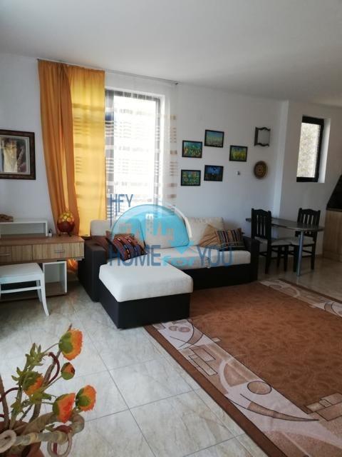 Большая и уютная двухкомнатная квартира в комплексе Камелия Резиденс на Солнечном брегу