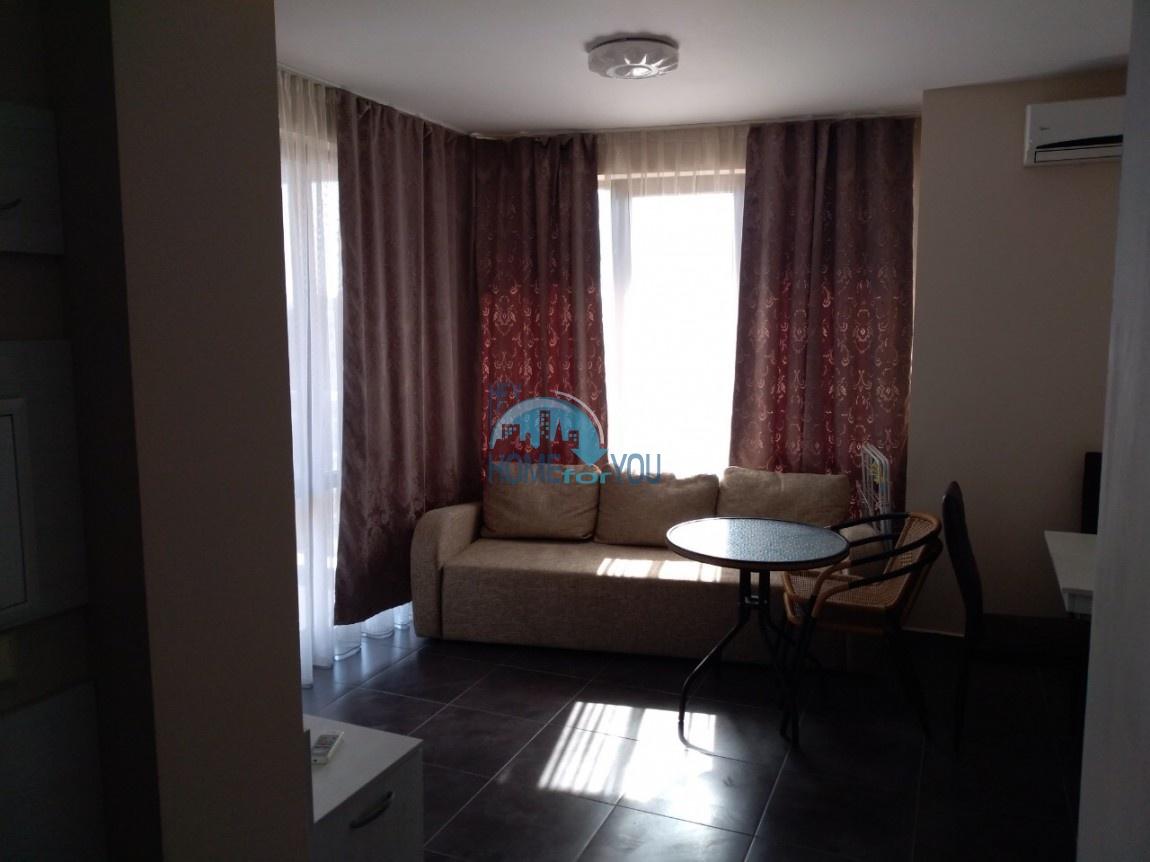Чудесная, новая двухкомнатная квартира на Солнечном берегу в комплексе Тарсис